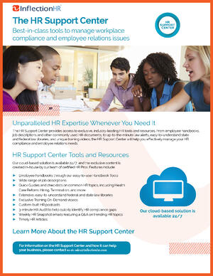 Inflection HR Support Center Cover