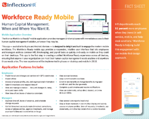 HCM Mobile App Overview Datasheet   Inflection HR