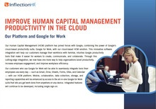 Inflection HR Workforce Management Platform Integrates with Google Apps