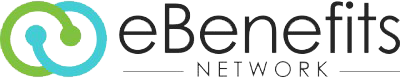 ebenefits network employee benefits integration logo