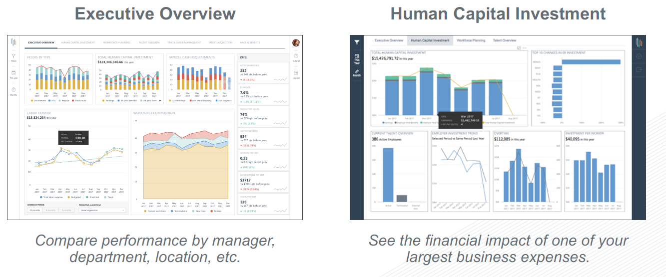 Executive Overview and HCM Investment Dashboard | Inflection HR